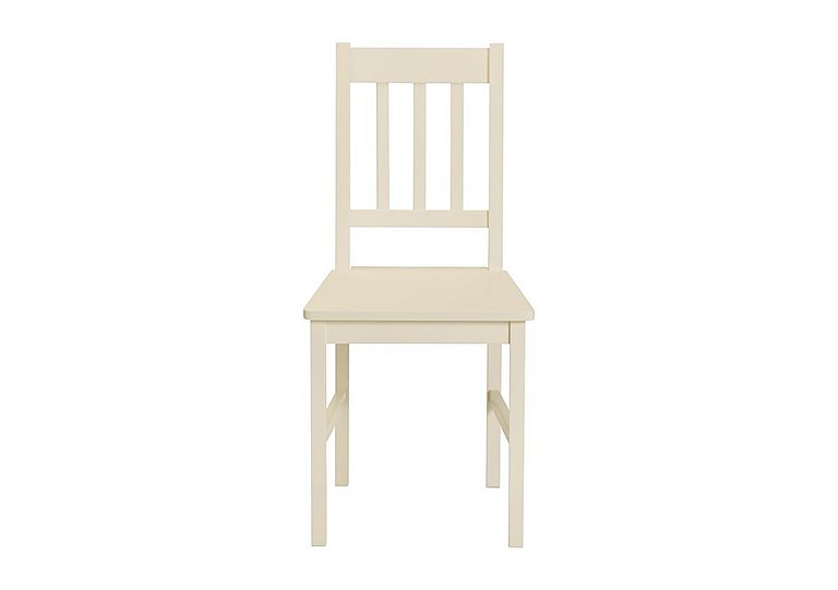 Chilton Stone White Chair in  on Furniture Village