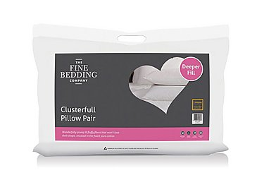 Pair of Clusterfull Pillows in  on Furniture Village