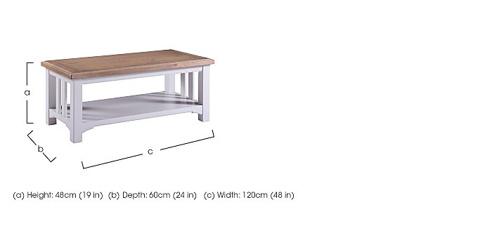 Cobham Coffee Table in  on Furniture Village