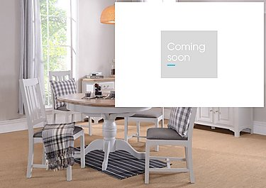 Cobham Round Table and 4 Chairs in  on Furniture Village