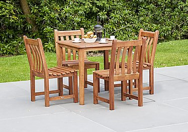 Cornis Square 4 Seater Dining Set in  on Furniture Village