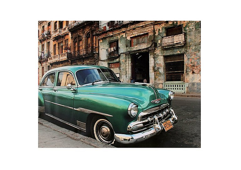 Cuban Car Picture in  on Furniture Village
