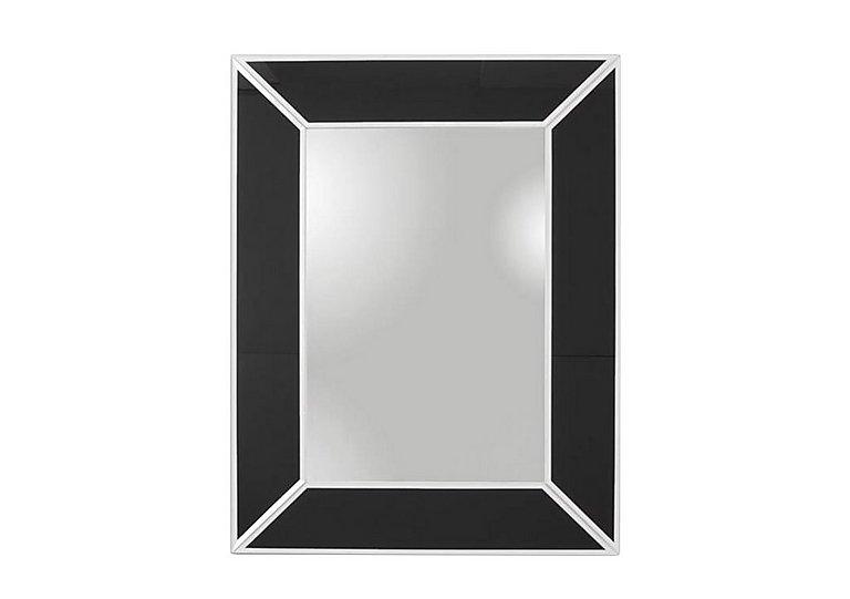 Decor Black Glass Mirror in  on Furniture Village