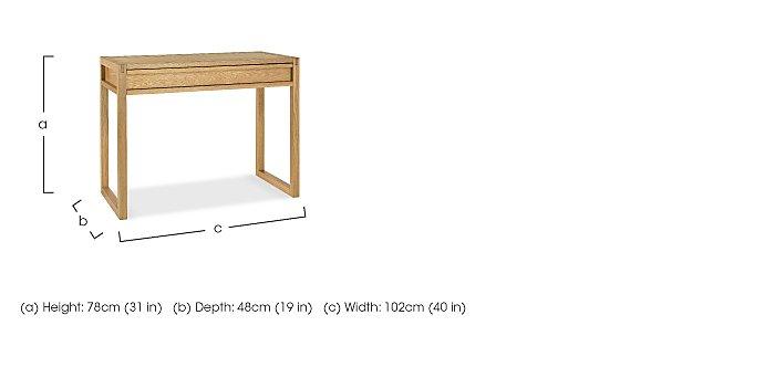 Dijon Home Office Desk in  on Furniture Village