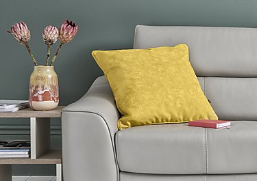 Dreamz Yellow Cushion in  on Furniture Village