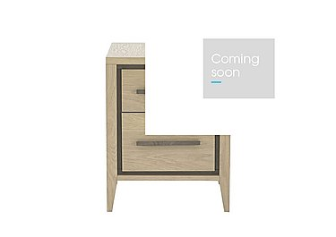 Durrell 2 Drawer Night stand in  on Furniture Village