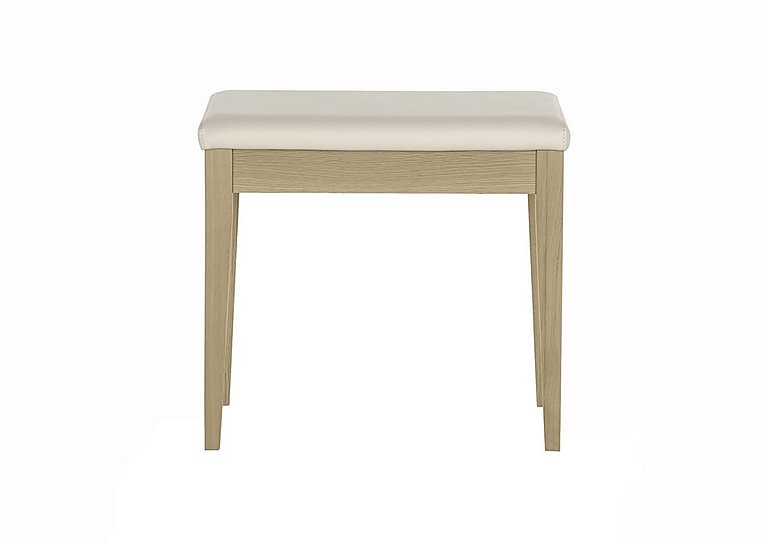 Durrell Bedroom Stool in  on Furniture Village