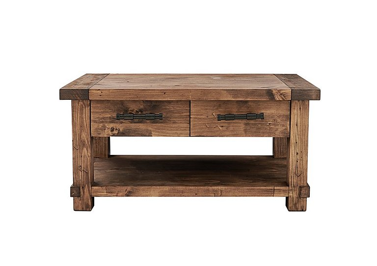 Eco Small Wooden Coffee Table