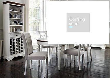 Emily Extending Table and 4 Upholstered Dining Chairs in  on Furniture Village