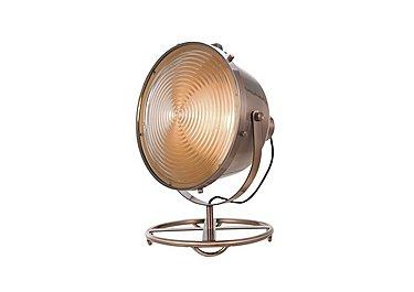 Erik Copper Floor Lamp in  on Furniture Village