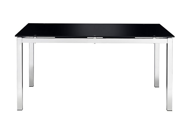 Eris Glass Dining Table in  on Furniture Village