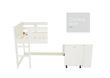 Explorer Mid Sleeper Bed with Desk in  on Furniture Village