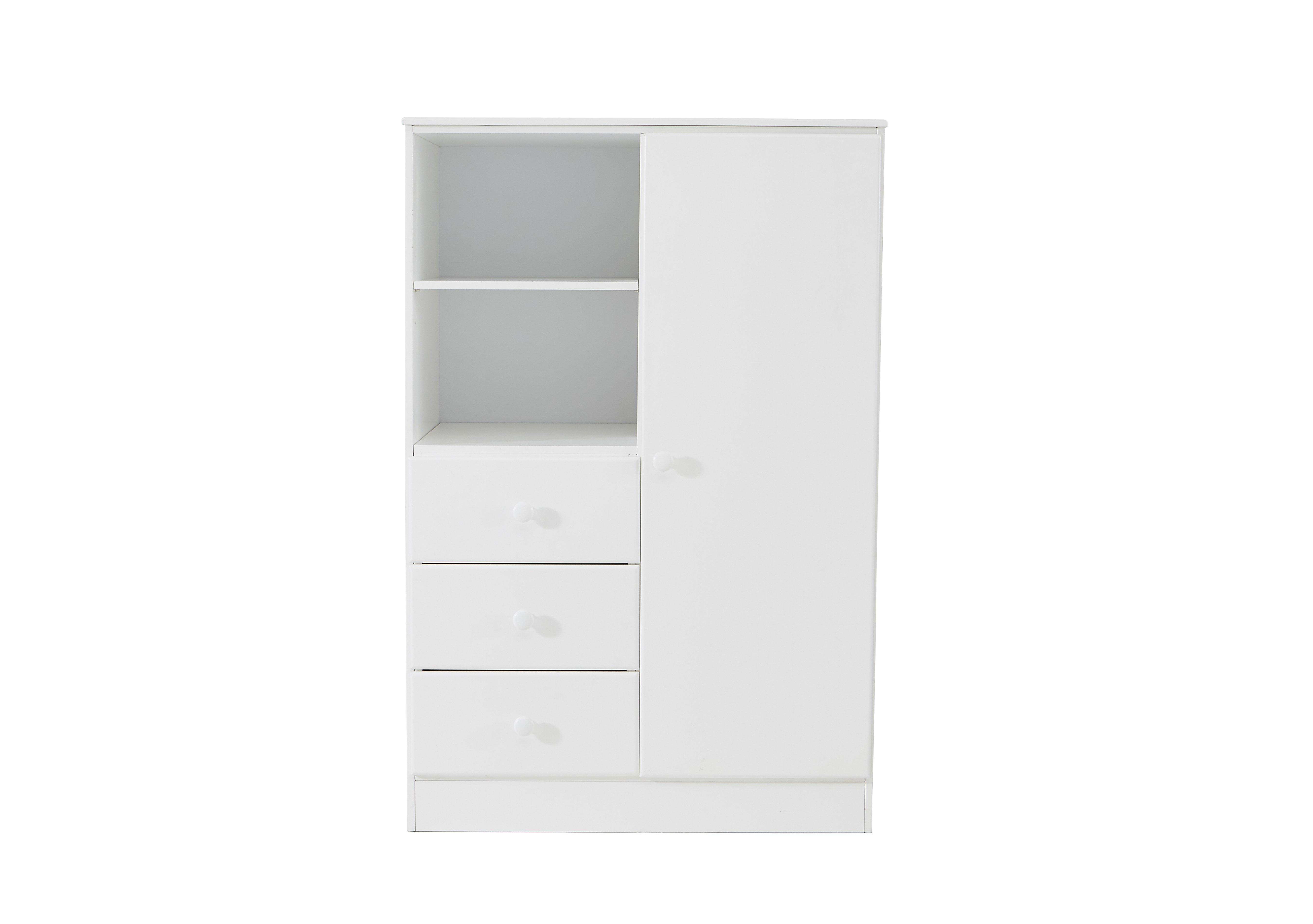 Explorer Wardrobe with 3 Drawers & Shelf Furniture Village