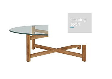 Enzo Glass Coffee Table in  on Furniture Village