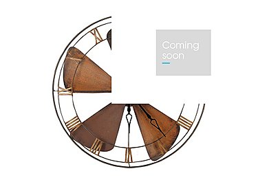 Fan Wall Clock in  on Furniture Village