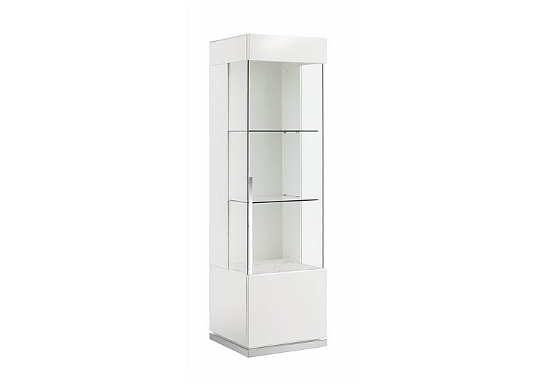 Fascino 1 Door Right Hand Curio Cabinet in  on Furniture Village