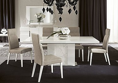 save 600 alf fascino large extending dining table