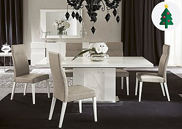 Marble Dining Tables Modern Amp Large Furniture Village