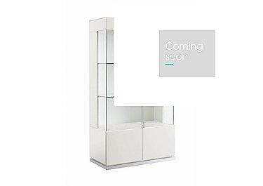 Fascino 2 Door Curio Cabinet in  on Furniture Village