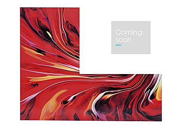 Chaos Fire Glass Picture in  on Furniture Village