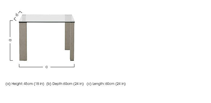 Fuze Lamp Table in  on Furniture Village