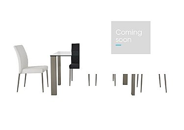 Fuze Dining Table and 4 Chairs in  on Furniture Village