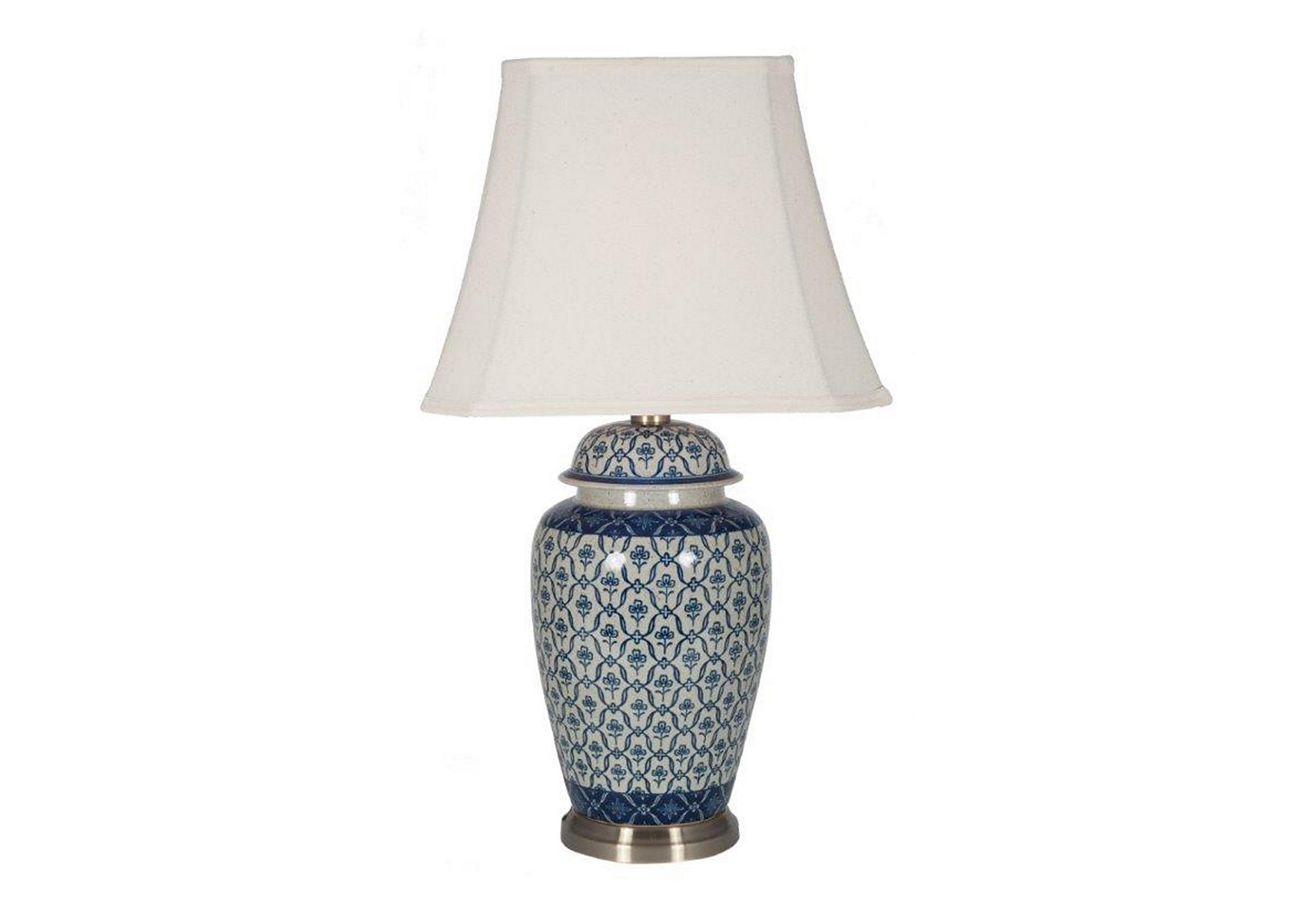 Porcelain ginger jar table lamp furniture village porcelain ginger jar table lamp loading images geotapseo Choice Image