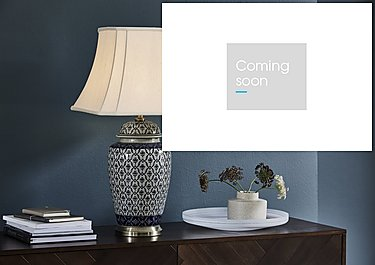 Porcelain Ginger Jar Table Lamp in  on Furniture Village
