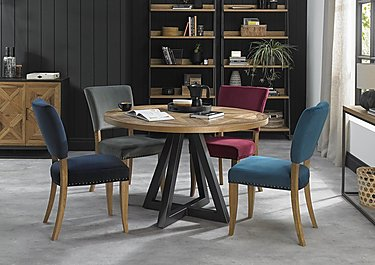 Globe Round Dining Table
