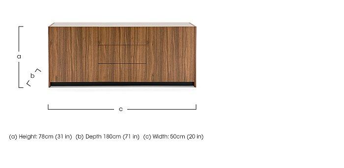 Mikado Gloria Sideboard in  on Furniture Village