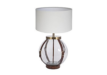 Glass Table Lamp in  on Furniture Village