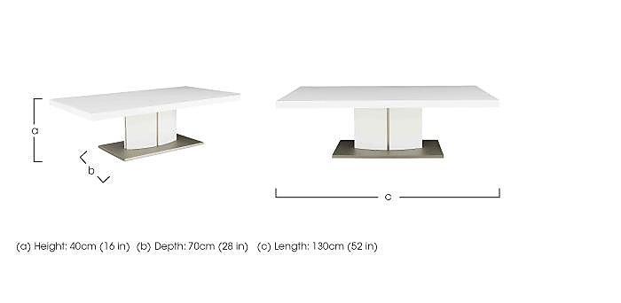 Grande Coffee Table in  on Furniture Village
