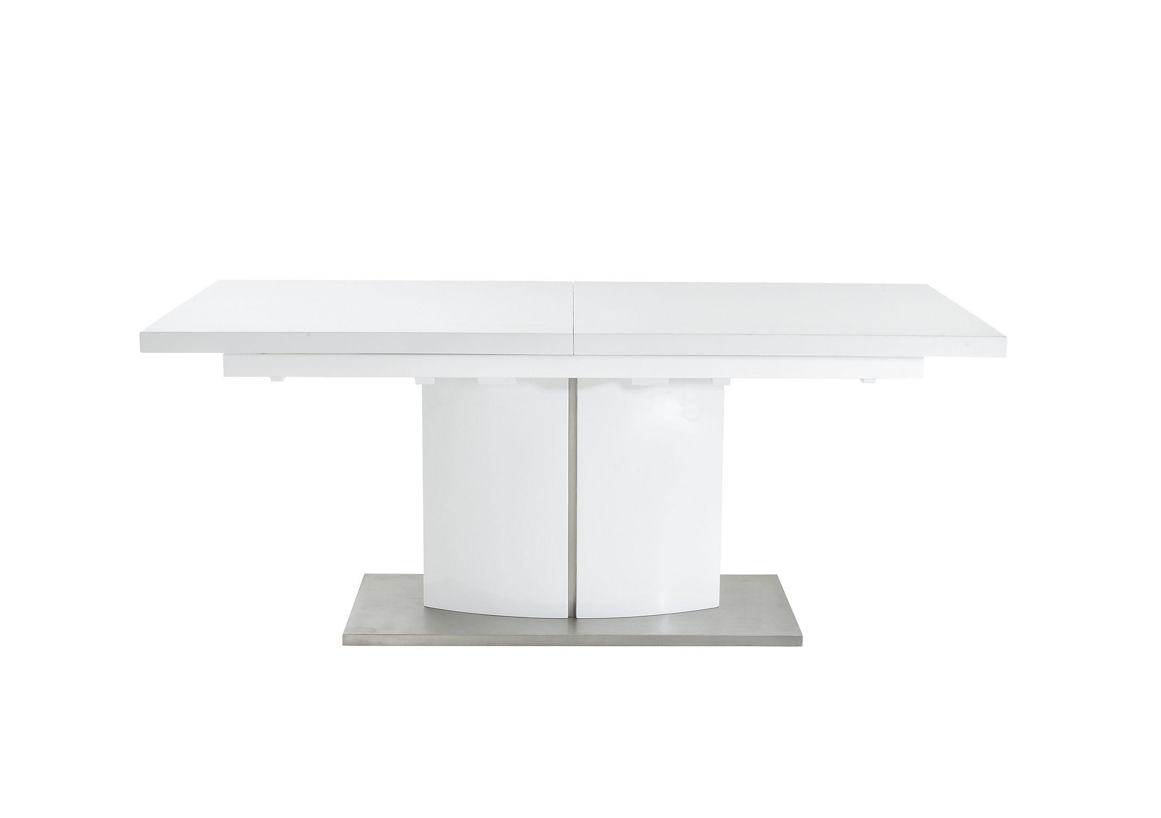 Save £60. Grande White High Gloss Extending Dining Table