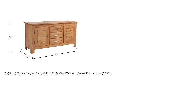 Horizon Small Sideboard in  on Furniture Village