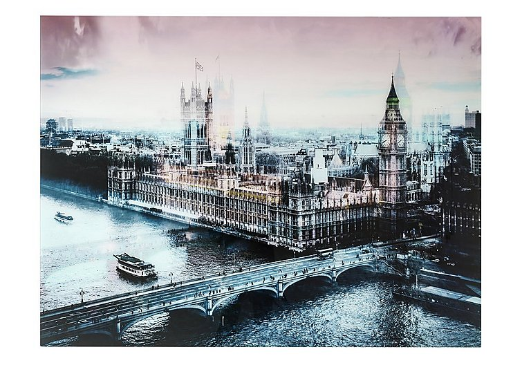 Houses of Parliament Glass Picture in  on Furniture Village
