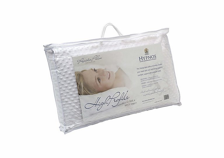 Hypnos Latex Pillow High Profile in  on Furniture Village