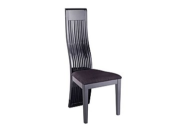 Hyatt Slatted Back Dining Chair in  on Furniture Village