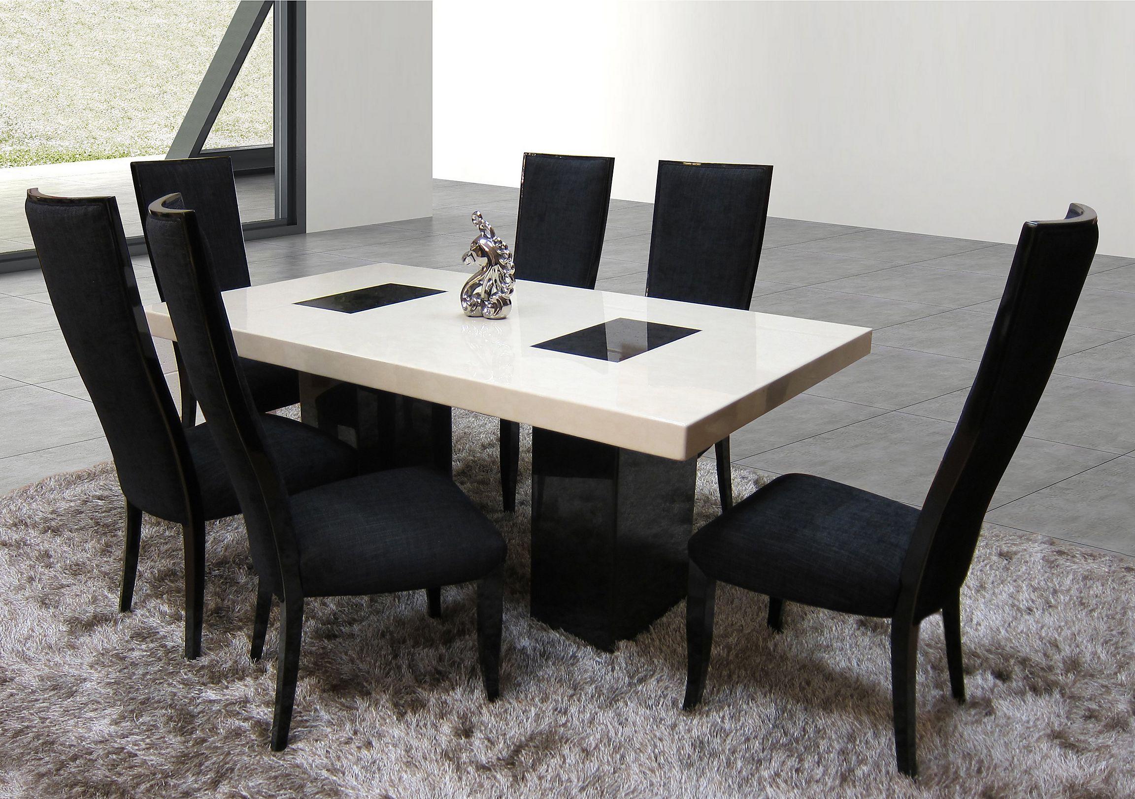 Hyatt Marble Dining Table. Loading Images