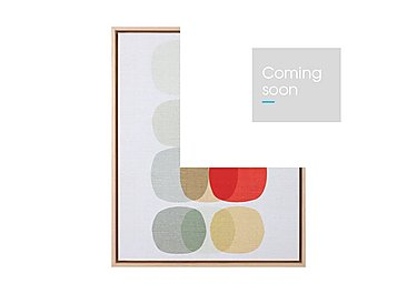 Inaluxe Keep It Simple Framed Picture in  on Furniture Village