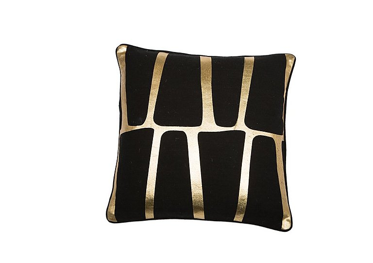 Jazz Gold Cushion in  on Furniture Village