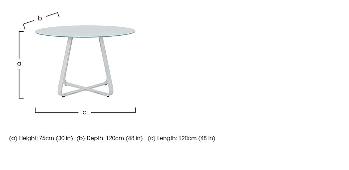 Jakob Round Dining Table in  on Furniture Village