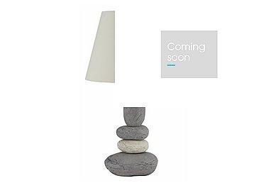Jethro Pebble Table Lamp in  on Furniture Village