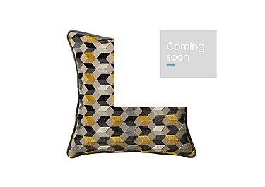 Kingsley Geometric Cushion in  on Furniture Village