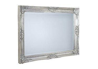 Kingsbury Silver Mirror in  on Furniture Village