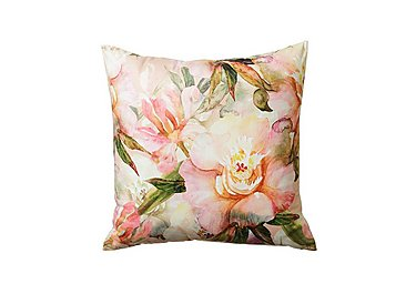 Lara Cushion Coral in  on Furniture Village
