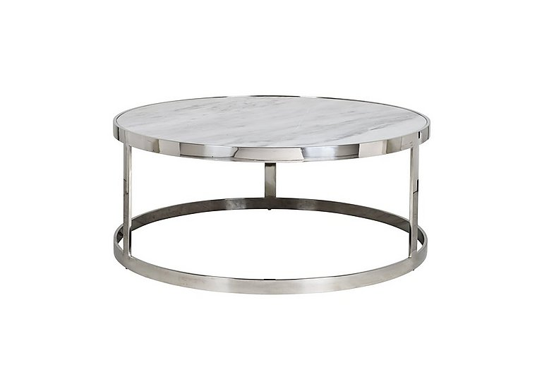 Levanto Round Marble Coffee Table Furniture Village