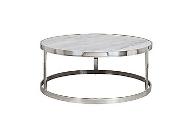 Levanto Round Marble Coffee Table Furniture Village
