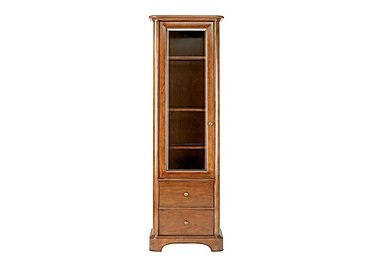 Lille Narrow Display Cabinet in  on Furniture Village