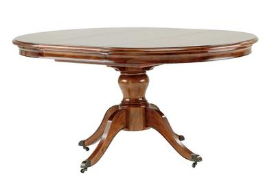 Lille Round Extending Dining Table Furniture Village