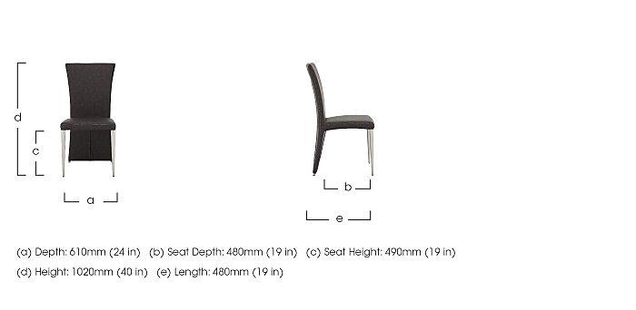 Long Island Cedar Dining Chair in  on Furniture Village